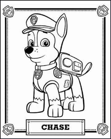 Patrulha Canina Desenho Para Colorir 2020 Patrulla Canina