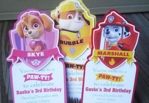 fiesta patrulla canina 1 - 30 idéias para organizar sua festa da Patrulha Canina