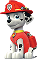 patrulla canina manualidades - Caída de globos