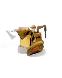 patrulla canina vehiculo rubble - Artesanato