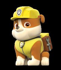 personaje rubble - Os personagens