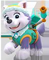 personajes patrulla canina - Caída de globos